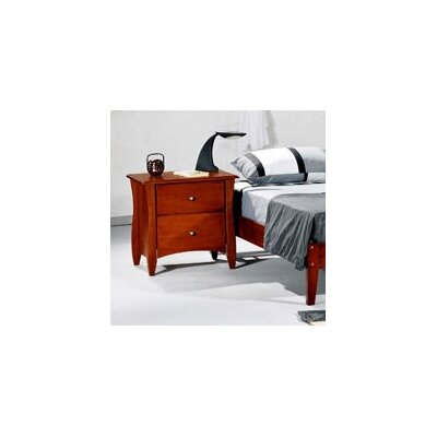 Night & Day Furniture Spices Bedroom 2 Drawer Ni..