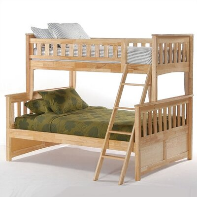 Night & Day Furniture Ginger Twin over Full Bunk Bed
