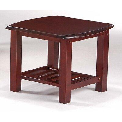 Night & Day Furniture Corona End Table in Rosewood