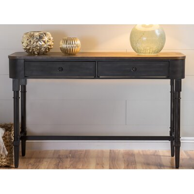 Home Loft Concepts Myrtle Wood Console Table