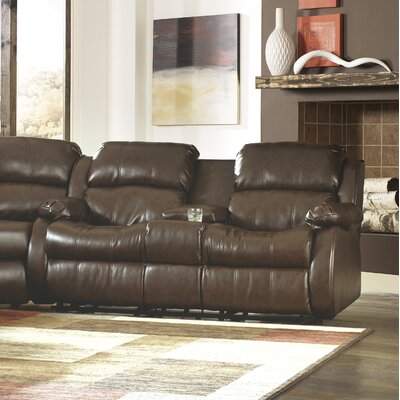 Signature Design by Ashley Holt Double Reclining Loveseat