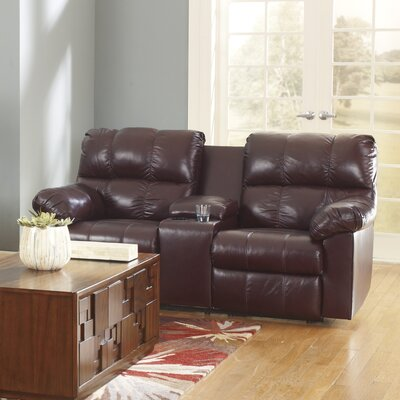 Signature Design by Ashley Kennett Double Reclining Loveseat