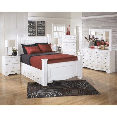 Beachcrest Home Carrabassett Panel Customizable Bedroom Set