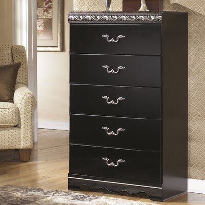 Signature Design by Ashley Constellations 5 Drawer Chest Image