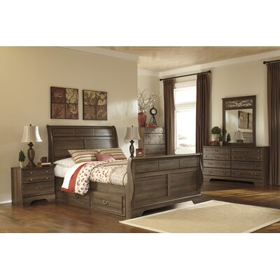 Signature Design by Ashley Allymore Sleigh Customizable Bedroom Set