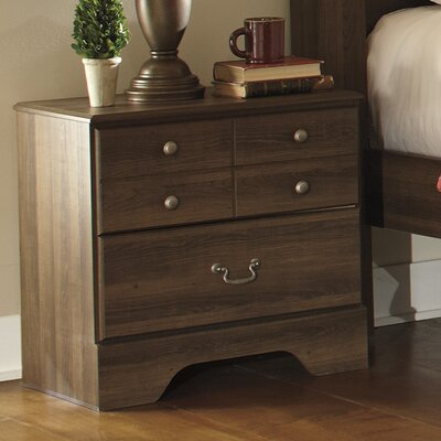 Signature Design by Ashley Allymore 2 Drawer Nightstand