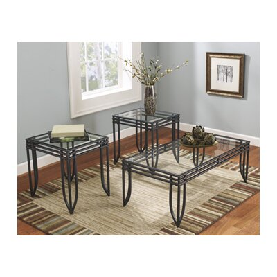 Signature Design by Ashley Morrison 3 Piece Coffee Table Set