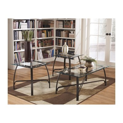 Signature Design by Ashley Leah 3 Piece Coffee Table Set