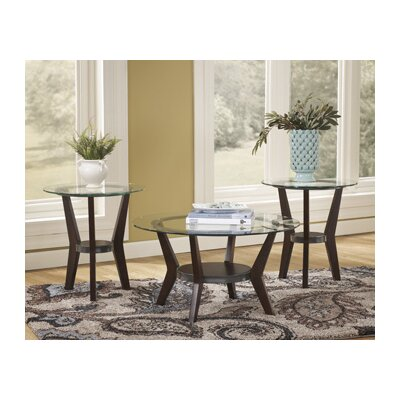 Signature Design by Ashley Curtis 3 Piece Coffee Table Set