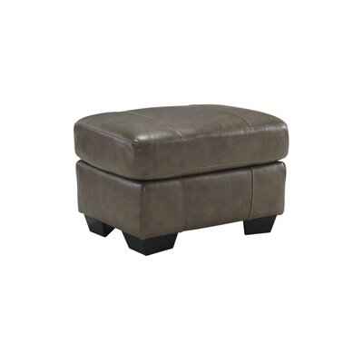 Signature Design by Ashley Leather Ottoman