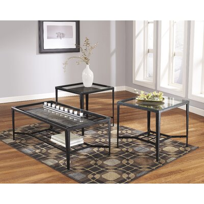 Signature Design by Ashley Alexandra 3 Piece Coffee Table Set