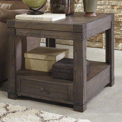 Signature Design by Ashley Burladen End Table Image