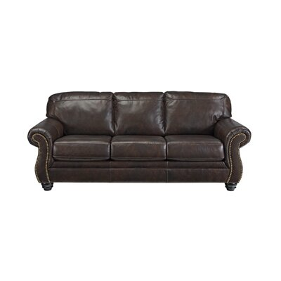 Darby Home Co Baxter Springs Leather S..