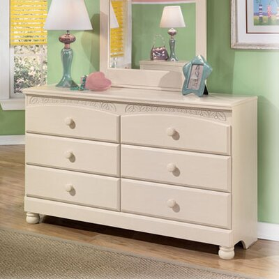 Signature Design by Ashley Carey 6 Drawer Double Dresser
