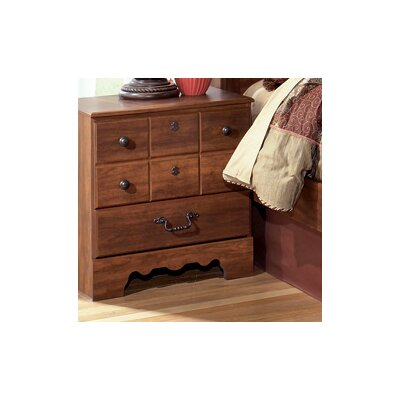 Signature Design by Ashley Oakridge 3 Drawer Nightstand