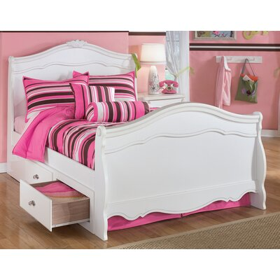 Signature Design by Ashley Lydia Sleigh Customizable Bedroom Set