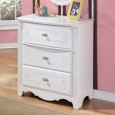 Signature Design by Ashley Lydia 3 Drawer Chest