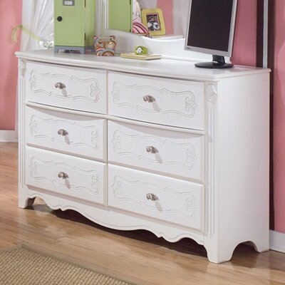 Signature Design by Ashley Lydia 6 Drawer Double Dresser