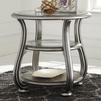 House of Hampton Gasser End Table
