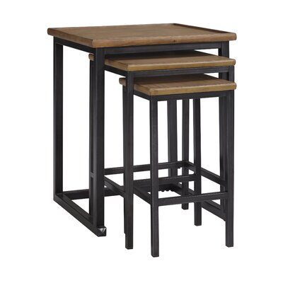 Signature Design by Ashley Traxmore 3 Piece Nesting Table