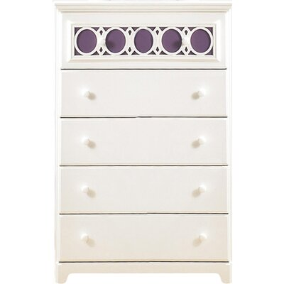 Signature Design by Ashley Zayley 5 Drawer Chest