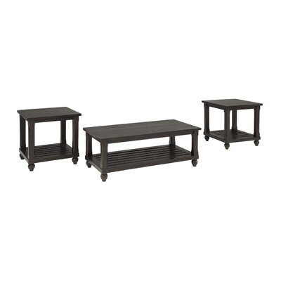 Darby Home Co Linden 3 Piece Coffee Ta..