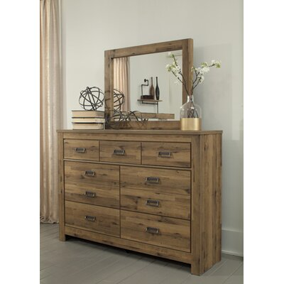 Signature Design by Ashley 7 Drawer Dresser with Mirror Image