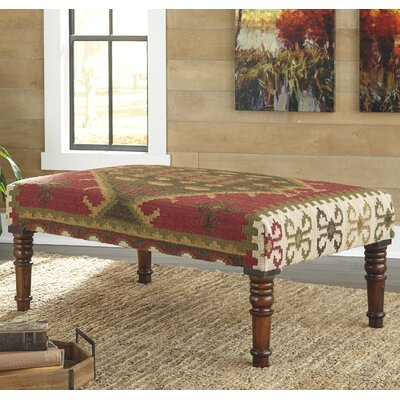 World Menagerie Belvidere Upholstered Bedroom Bench