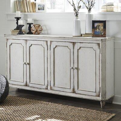 Signature Design by Ashley Mirimyn 4 Door Accent Cabinet & Reviews ...