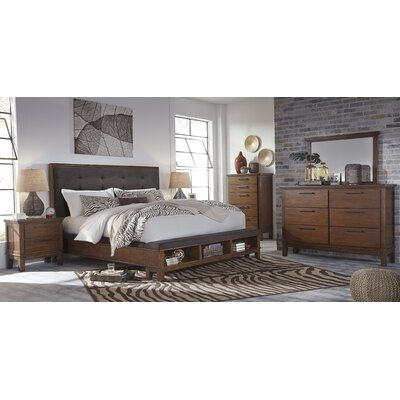 Brayden Studio Upholstered Storage Panel Customizable Bedroom Set