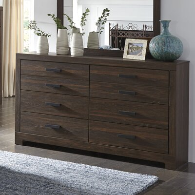Red Barrel Studio Caffey 6 Drawer Dresser
