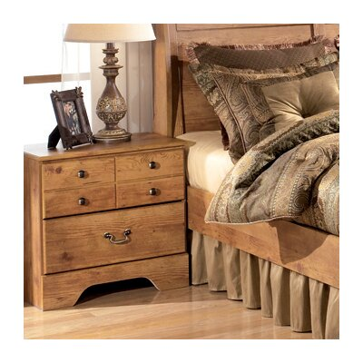 Signature Design by Ashley Atlee 2 Drawer Nightstand