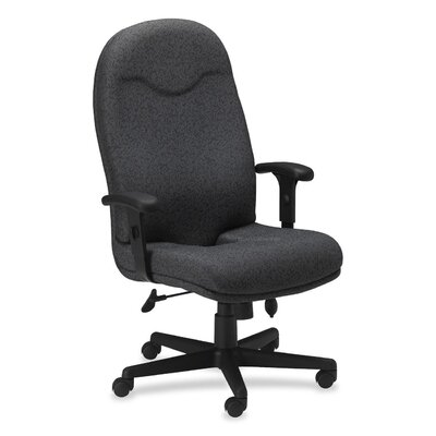 Mayline Group Executive High-Back Chair with Adjustable Arms