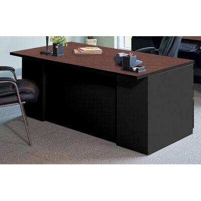 Mayline Group Executive Desk with 2 Pe..