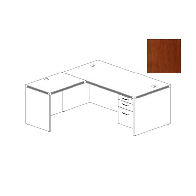Mayline Group Aberdeen Series L-Shape Computer Desk