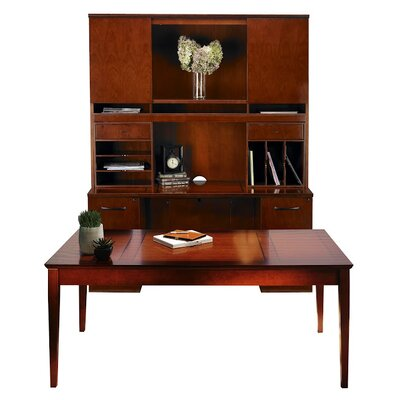 Mayline Group Sorrento Series 4-Piece Standard Desk Office Suite