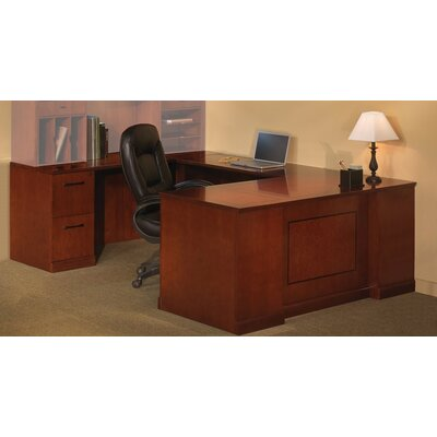 Mayline Group Sorrento Series 2-Piece U-Shape Desk Office Suite