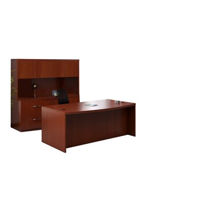 Mayline Group Aberdeen Series 3-Piece Standard Desk Office Suite