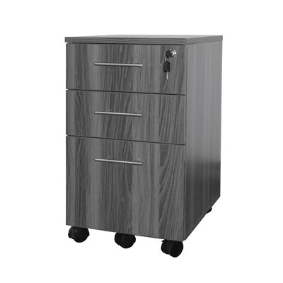 Mayline Group Medina Series 3 Drawer Pedestal File
