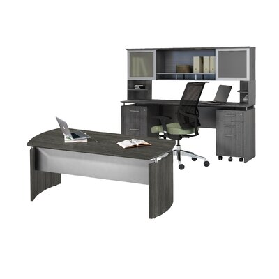 Mayline Group Medina Series Standard Desk Office Suite