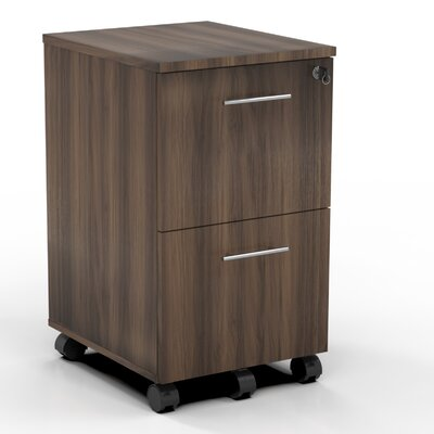 Mayline Group Medina 2 Drawer Mobile Pedestal File