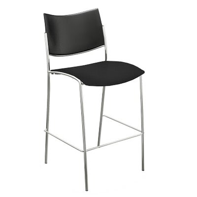 Mayline Group Escalate Stacking Stool and Cushion Seat (Set of 2)