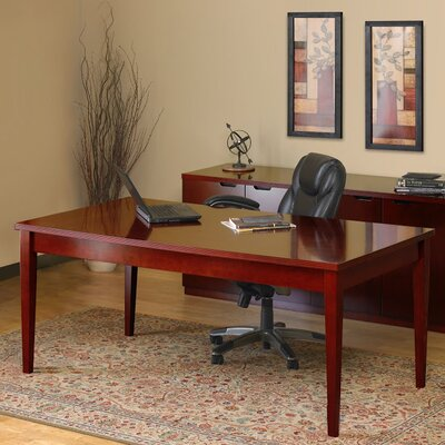 Mayline Group Luminary Series 2-Piece Standard Desk Office Suite