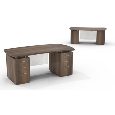 Mayline Group Sterling Desk with Box/Box/File Double Pedestals