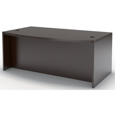 Mayline Group Aberdeen Bow Front Desk