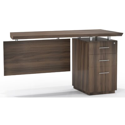 Mayline Group Sterling Desk Return with Box/Box/File Single Pedestal