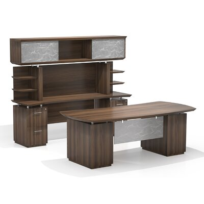 Mayline Group Sterling Credenza Desk w..