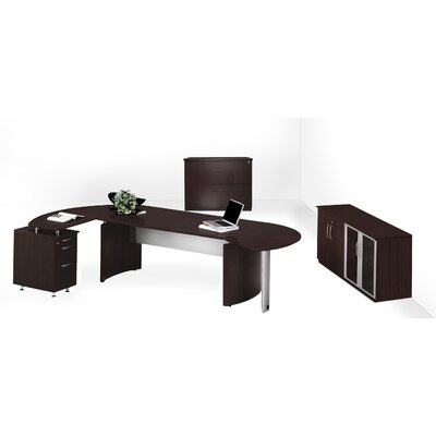 Mayline Group Medina Series Desk Office Suite