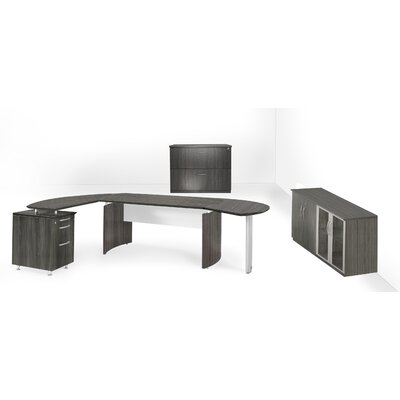 Mayline Group Medina Series 3-Piece L-Sha..