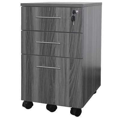 Mayline Group Medina 3 Drawer Mobile Pedestal